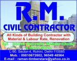 R.M. Civil Contractor